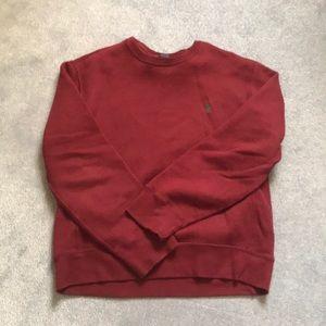 Red Polo Ralph Crewneck Sweatshirt